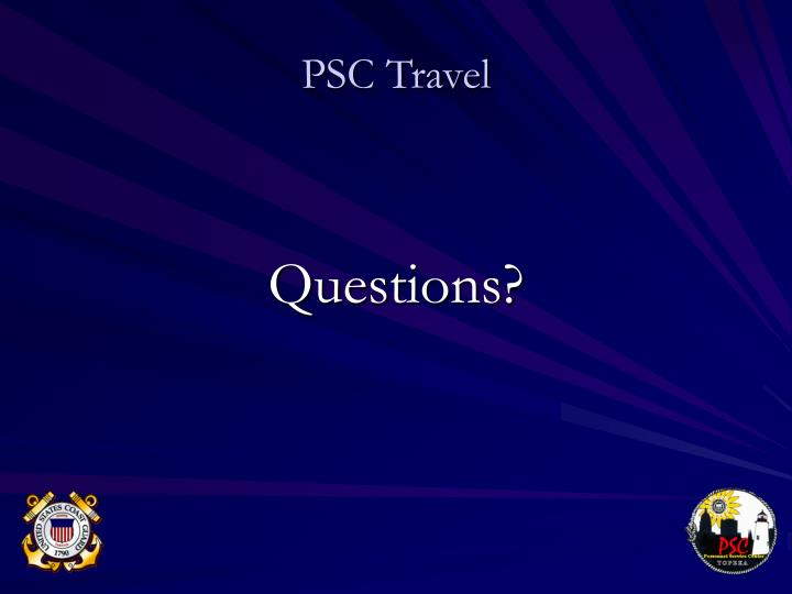 PSC Travel