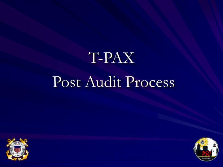 T-PAX