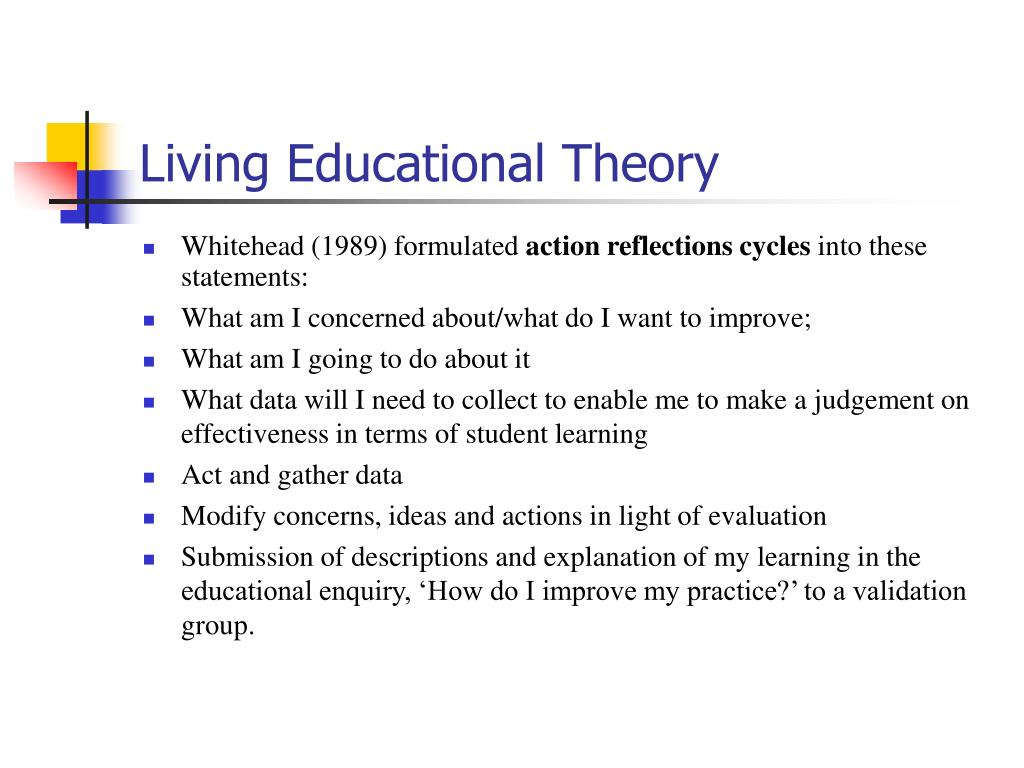 Living Educational Theory
