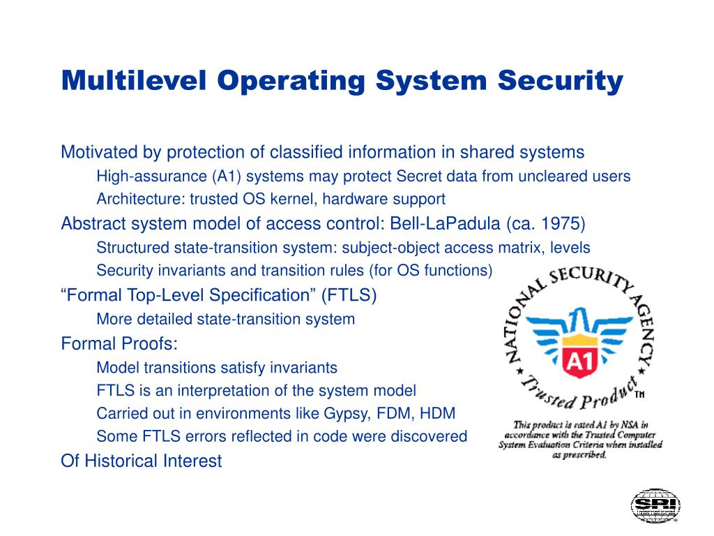 Multilevel Operating System Security
