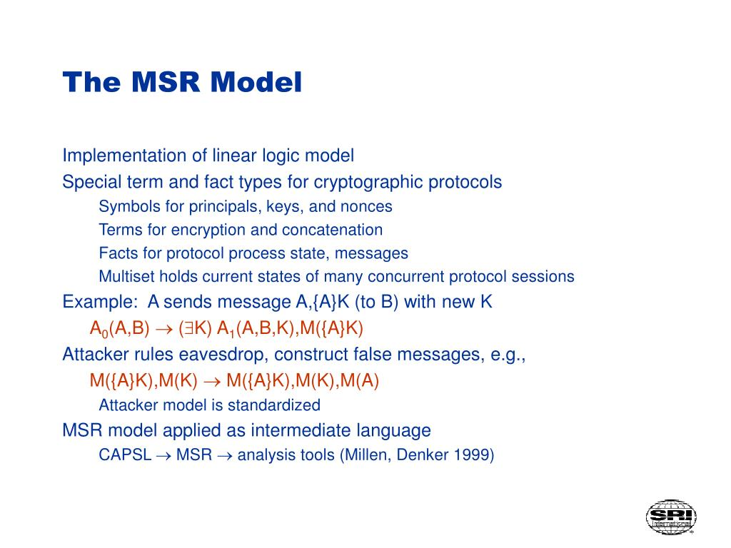 The MSR Model