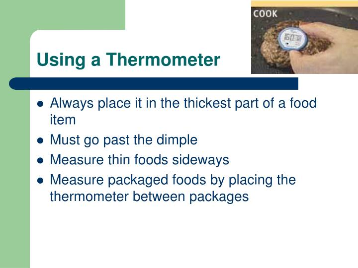 Using a Thermometer