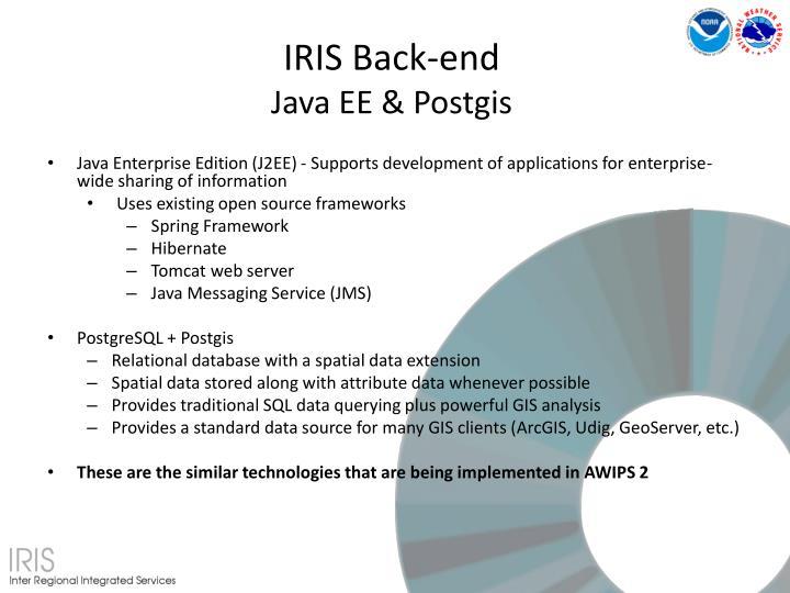 IRIS Back-end