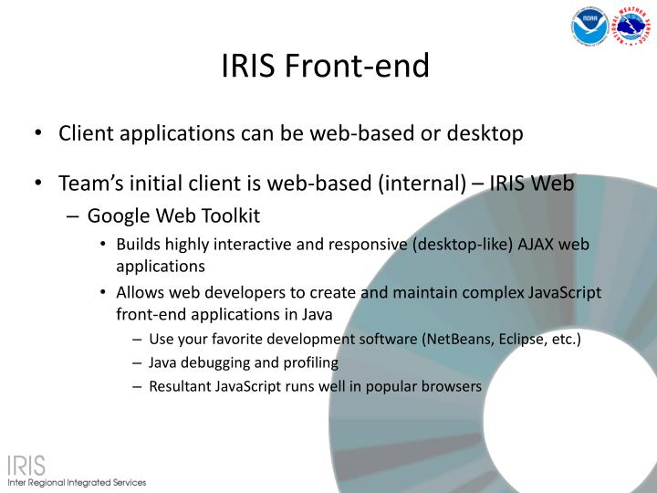 IRIS Front-end