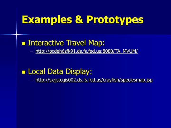 Examples & Prototypes