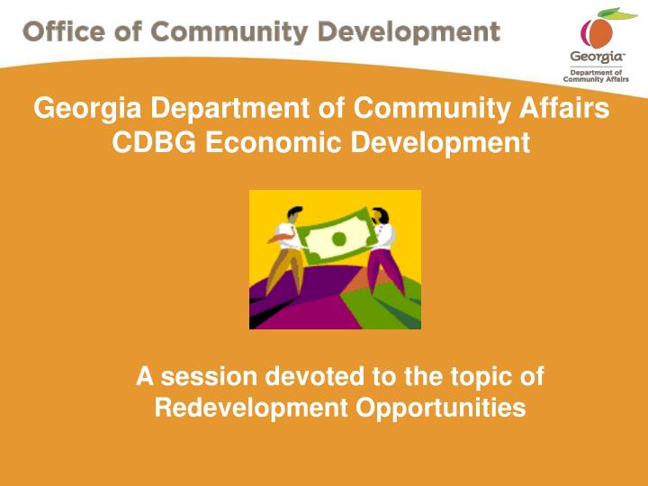 Georgia department of community affairs cdbg economic development l.jpg