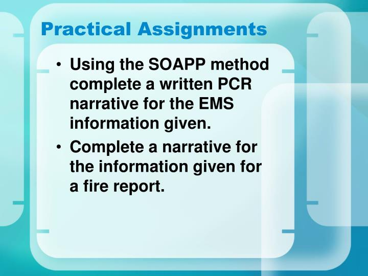 Practical Assignments
