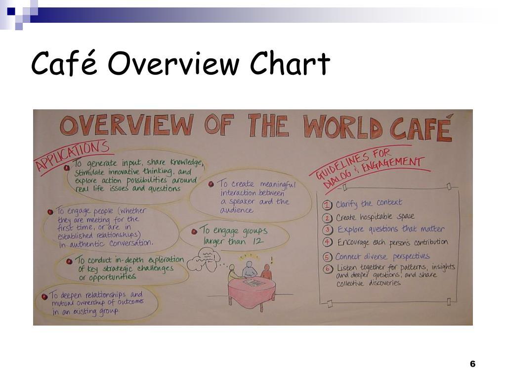 Café Overview Chart