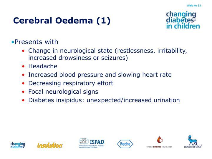Cerebral Oedema (1)