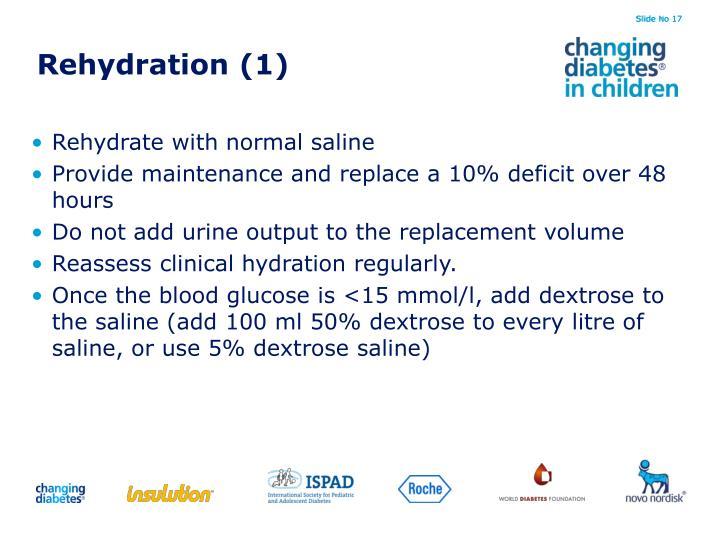 Rehydration (1)