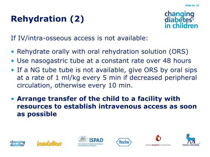 Rehydration (2)