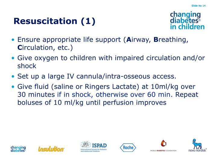 Resuscitation (1)