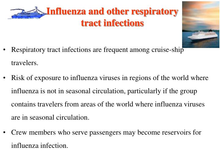 Influenza and other respiratory tract infections