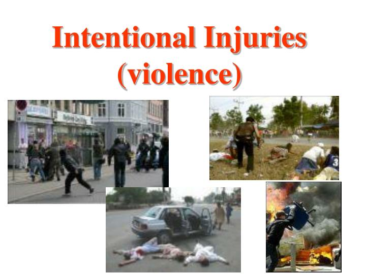 Intentional Injuries (violence)