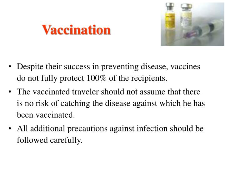 Vaccination