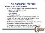 the kangaroo protocol17
