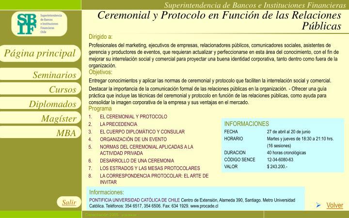 Ceremonial y Protocolo en Función de las Relaciones Públicas