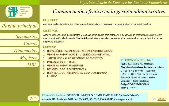 Comunicación efectiva en la gestión administrativa