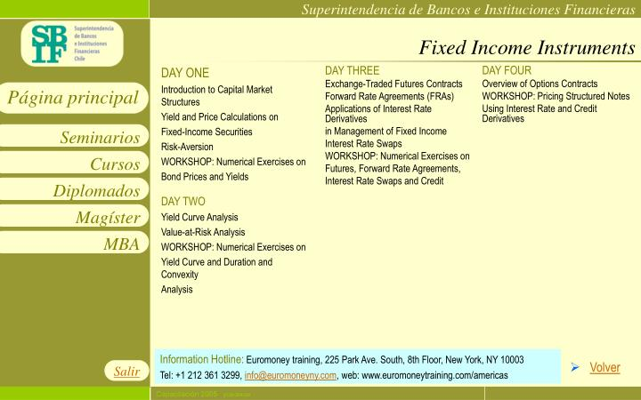 Fixed Income Instruments