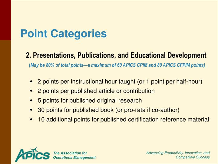 2. Presentations, Publications, and Educational Development