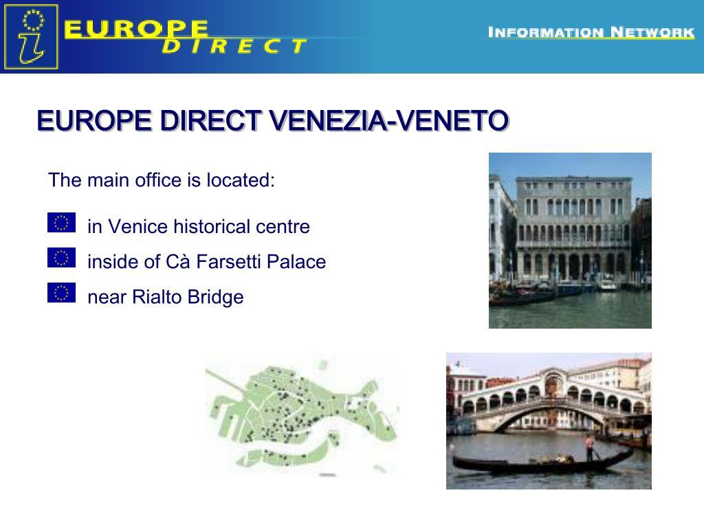 EUROPE DIRECT VENEZIA-VENETO