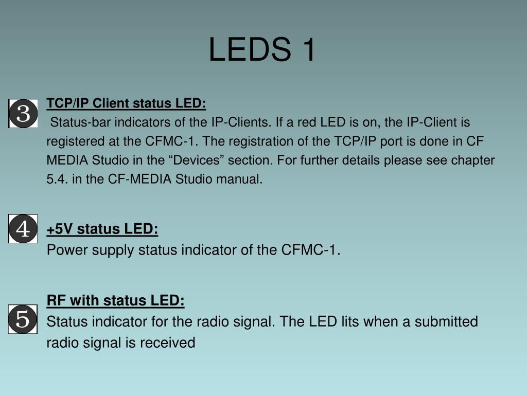 LEDS 1