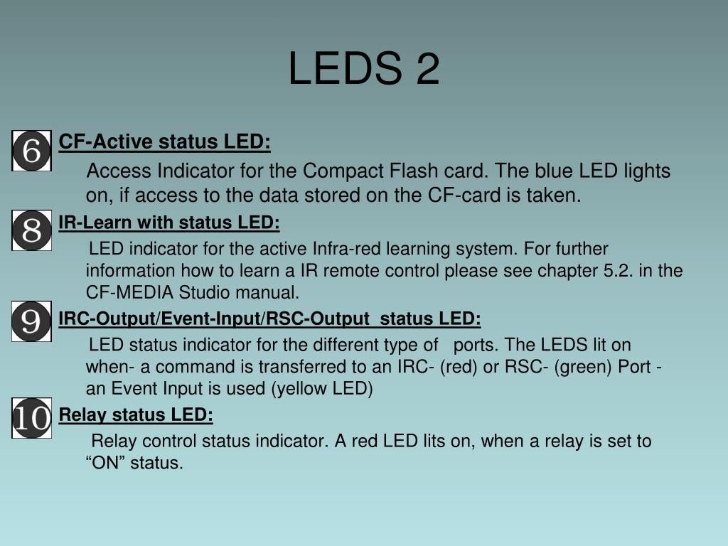 LEDS 2