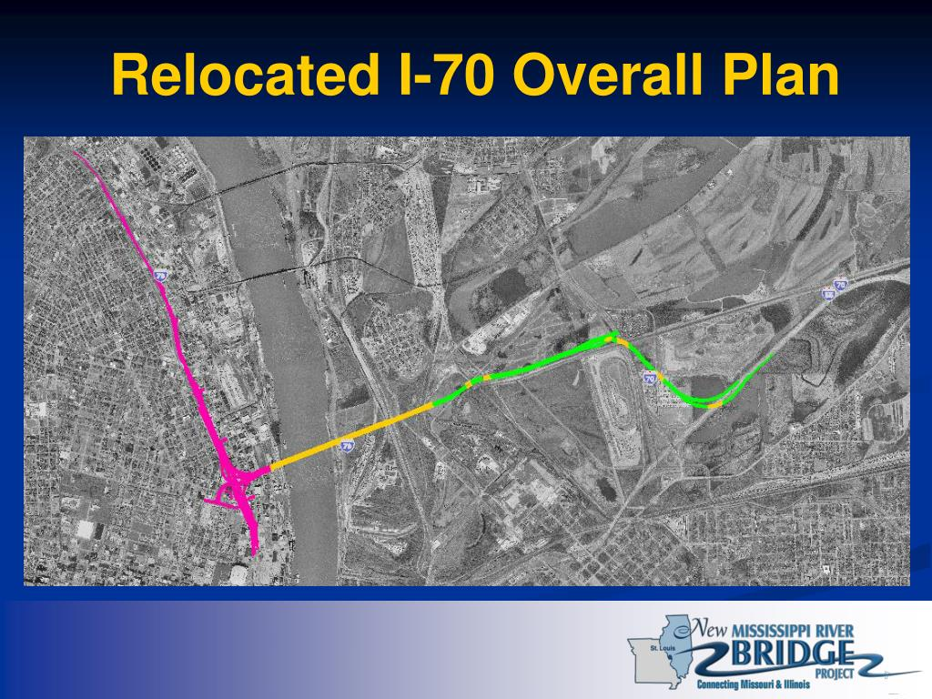 Relocated I-70 Overall Plan