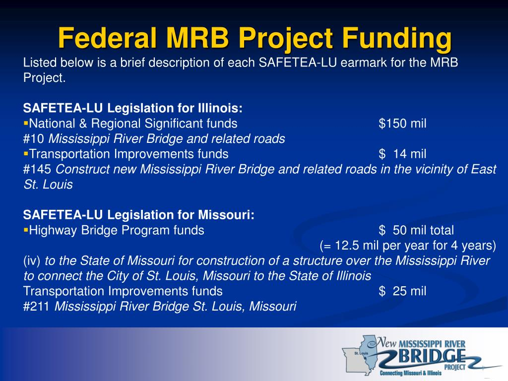 Federal MRB Project Funding