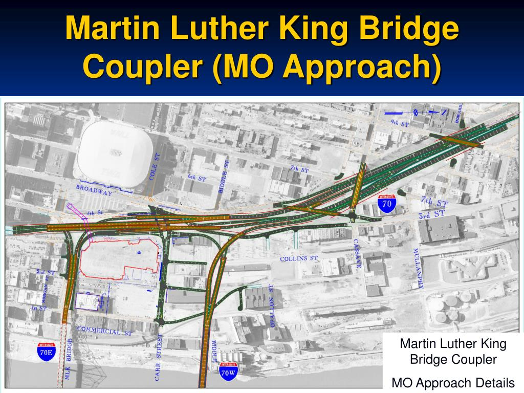 Martin Luther King Bridge Coupler (MO Approach)