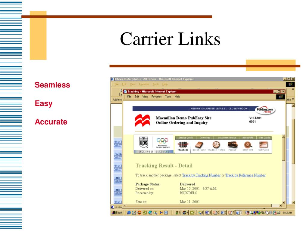 Carrier Links