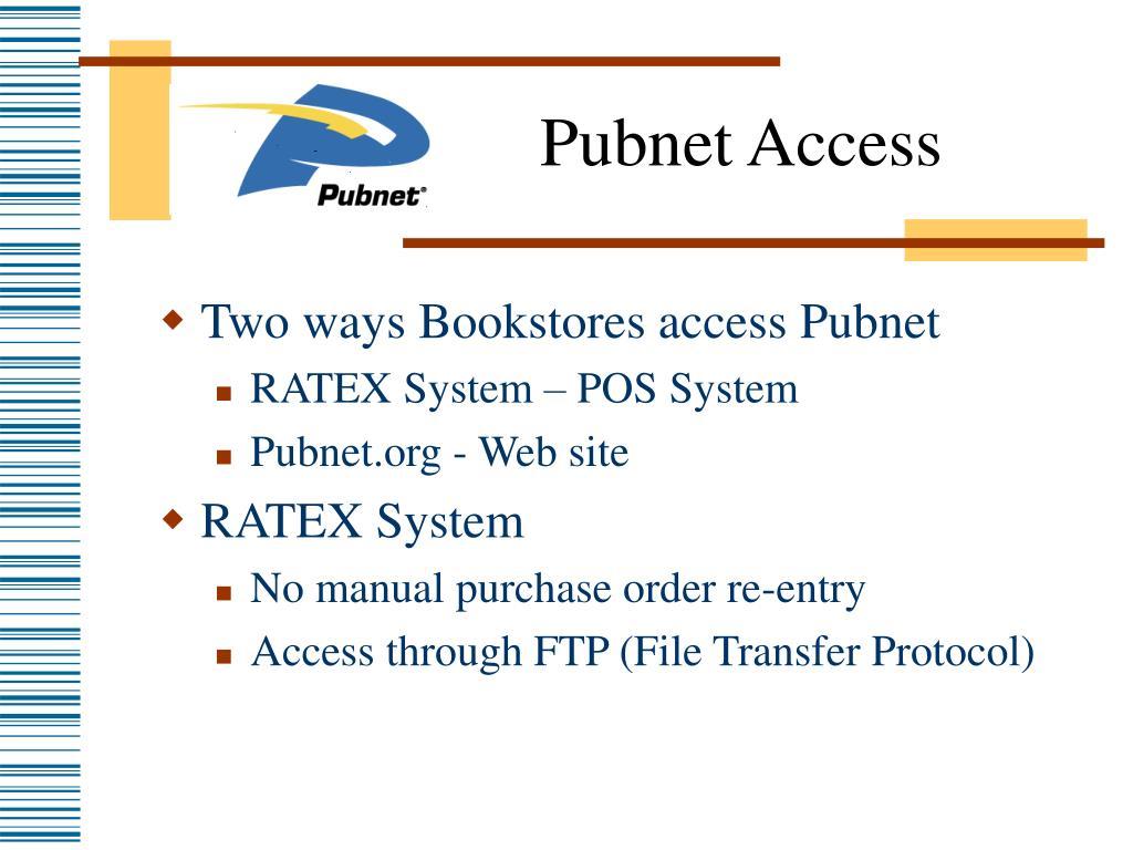 Pubnet Access
