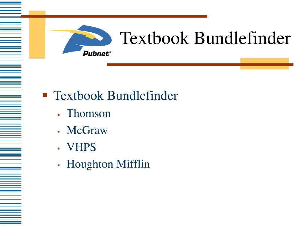 Textbook Bundlefinder