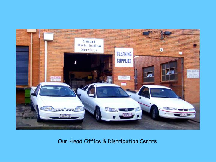 Our Head Office & Distribution Centre