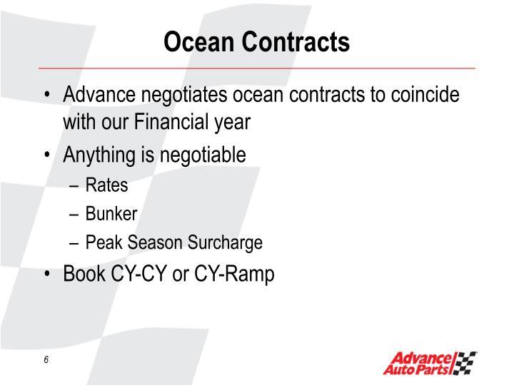 Ocean Contracts