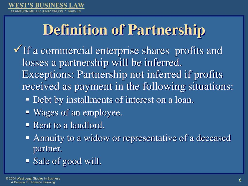 Definition of Partnership