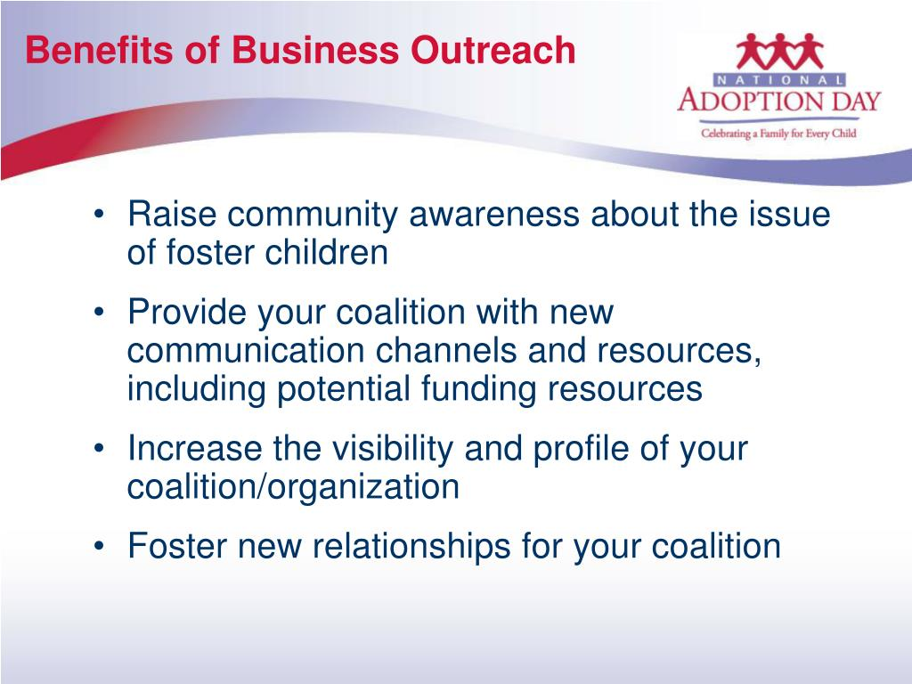 Benefits of Business Outreach