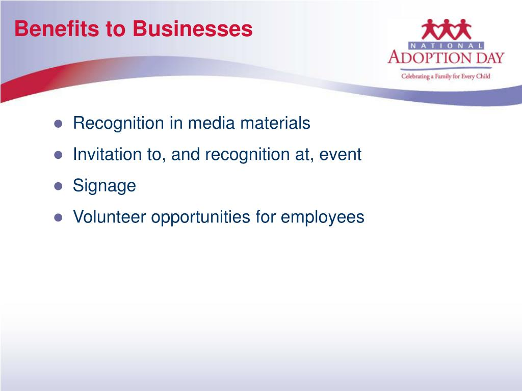 Benefits to Businesses