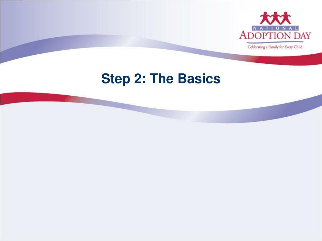 Step 2: The Basics