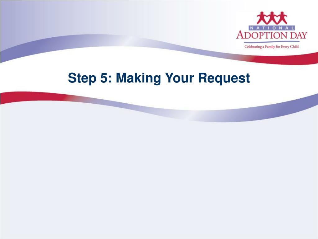 Step 5: Making Your Request