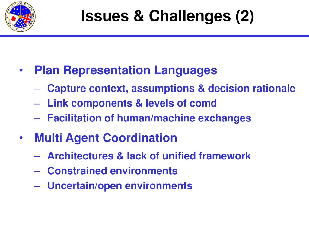 Issues & Challenges (2)