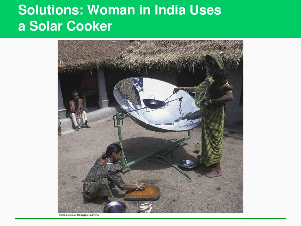 Solutions: Woman in India Uses