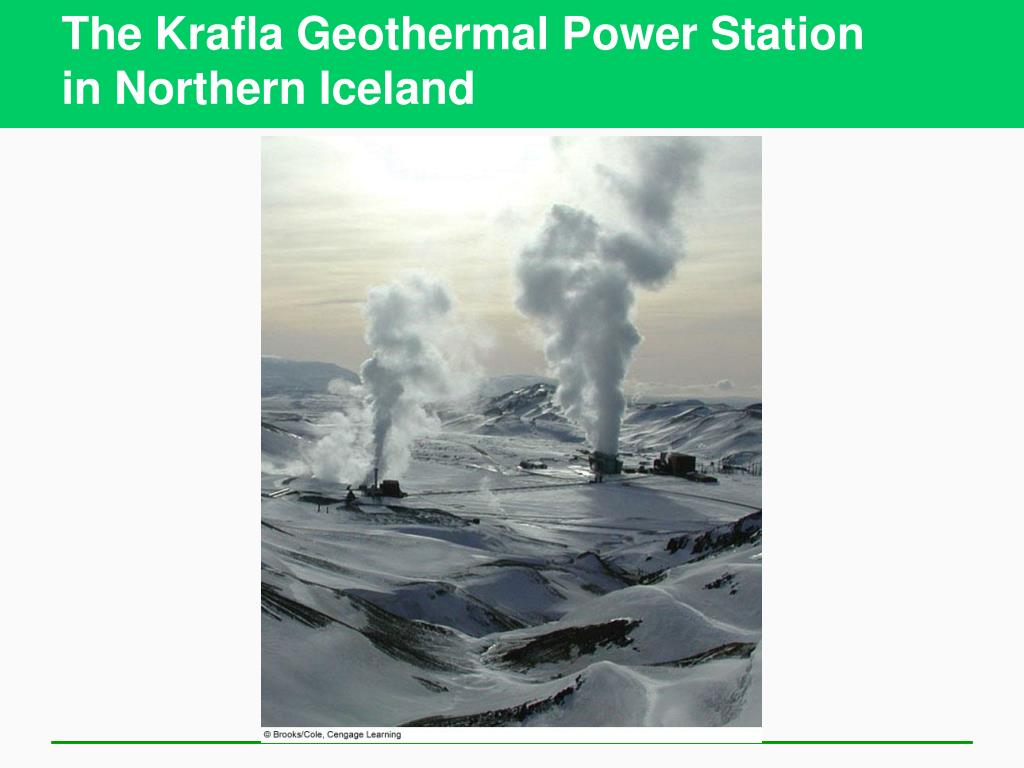 The Krafla Geothermal Power Station
