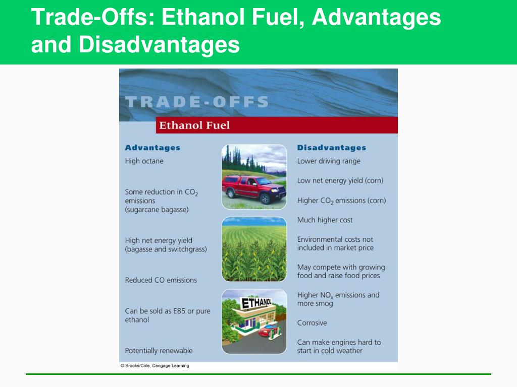 Trade-Offs: Ethanol Fuel, Advantages and Disadvantages