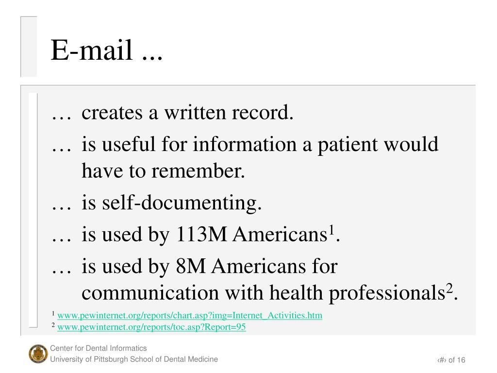 E-mail ...