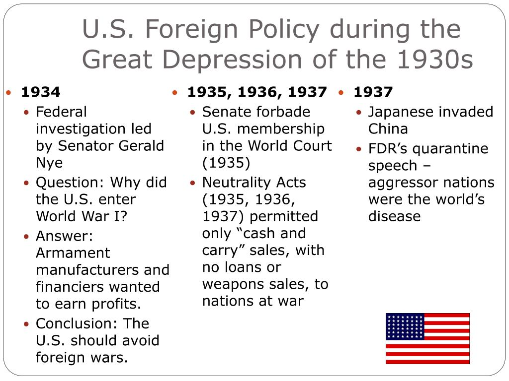Us foreign policy during 1950