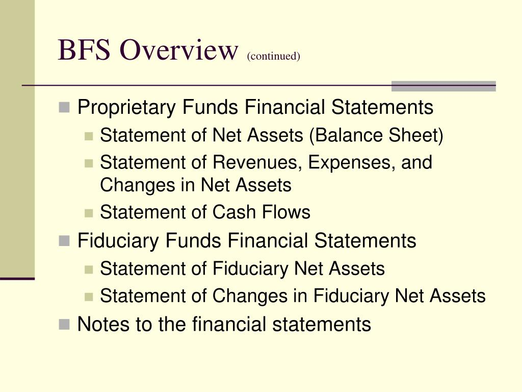 BFS Overview