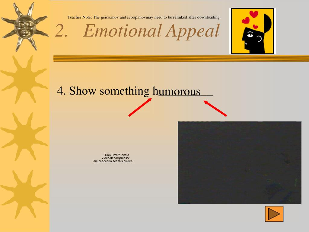 2.   Emotional Appeal