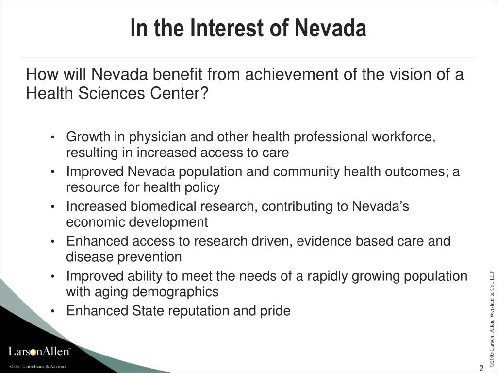 In the Interest of Nevada