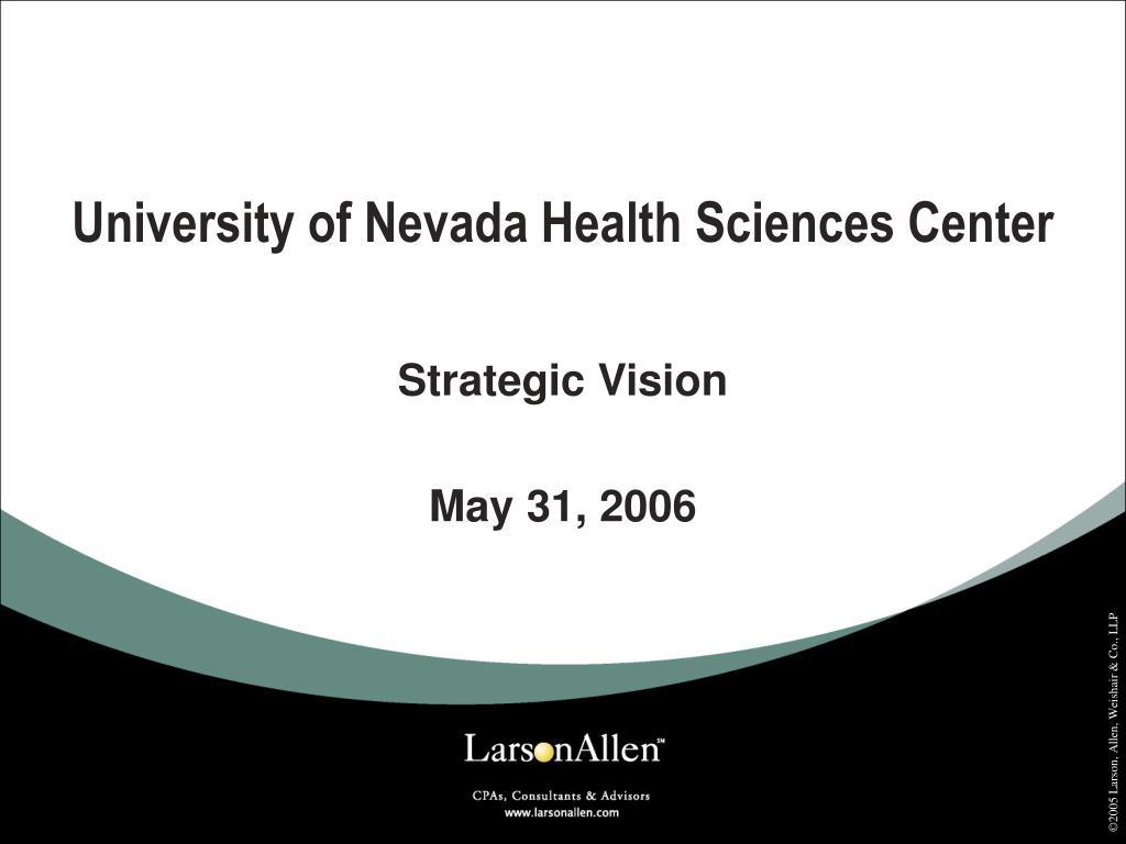 University of Nevada Health Sciences Center